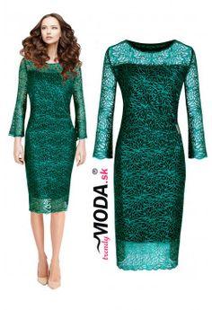 Spoločenské šaty BS50 Dresses For Work, Dresses With Sleeves, Formal Dresses, Long Sleeve, Fashion, Dresses For Formal, Moda, Sleeve Dresses, Formal Gowns