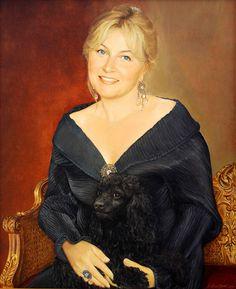 Tanya. Portrait. Portrait Paintings, Ruffle Blouse, Tops, Women, Art, Fashion, Art Background, Moda, Fashion Styles