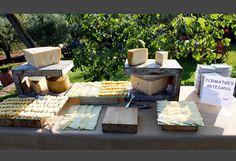 Mesa de quesos artesanales