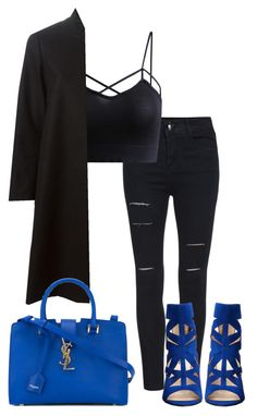 """""""Untitled #220"""" by xoxo-maneshass on Polyvore featuring Yves Saint Laurent and Nine West"""