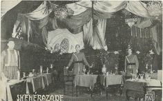 Sheherazade,the most famous russian cabaret,Paris 1930's.From my vault.