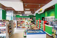 C-store interior(1) | por Minale Tattersfield Roadside Retail