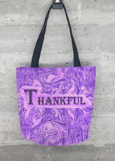 VIDA Tote Bag - Kay Duncan Thankful MCT by VIDA g94tW