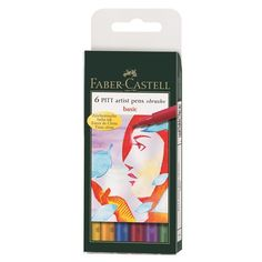 "Tuschestift PITT artist pen B 6er Etui ""Basic"" Ca. 16,00€"