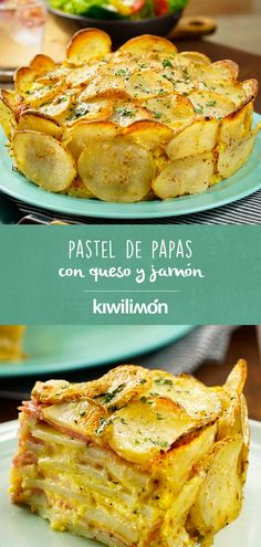 Pastel de Papas con Queso y Jamón Nothing better for your family reunions than this potato pie with Easy Cooking, Cooking Recipes, Healthy Recipes, Italian Recipes, Mexican Food Recipes, Food Trends, Quiches, Vegetable Recipes, Food Inspiration