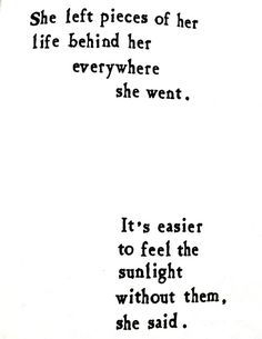 sunlight without them