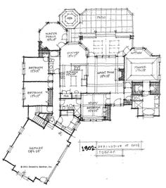 1000 images about house plans on pinterest house plans for Home plans with side entry garage