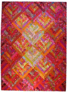 aavarkark quilts | medium and dark and strip piece your way to this spectacular quilt ...