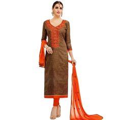 Readymade Silk Embroidered Salwar Kameez Suit Indian Dress Ethnic  #LowestPrice #SalwarSuit #DressMaterial #FreeShipping #SalwarKameez #ShopNow #Designer #NewStuff