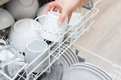 How to Remove Dishwasher Rust Off of Corelle Dishes Cleaning Your Dishwasher, Dishwasher Detergent, Deep Cleaning, Cleaning Hacks, Dishwasher Cleaner, Dishwasher Cover, Whirlpool Dishwasher, Dishwasher Tablets, Cleaning Appliances
