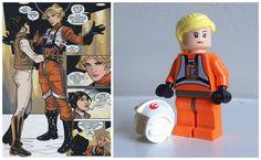 Female Star Wars Characters , Evaan Princess Leia comic, Evaan LEGO
