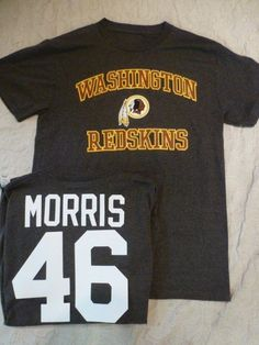 4801 MENS NFL TEAM Apparel Redskins ALFRED MORRIS