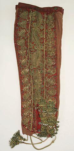 Toreador suit pants, 19th century, Metropolitan Museum of Art