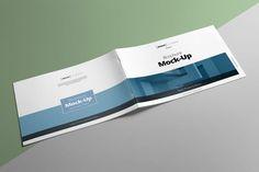 Landscape Brochure Mockup #customize #orporate Download : http://1.envato.market/c/97450/298927/4662?u=https://elements.envato.com/landscape-brochure-mockup-Y5GAYM