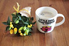 Teşvikiye - Home, morning coffee with Little Miss Chatterbox :)