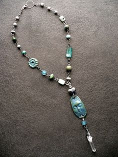 """livewire jewelry The """"Fortune Teller"""" necklace by the fabulous Sharon Borsavage!"""