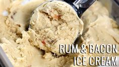 Rum & Bacon Ice Cream