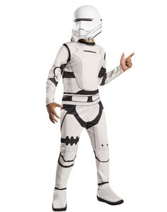 Kids Childs Flametrooper Star Wars Episode VII The Force Awakens Boys Costume