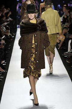 Michael Kors Collection Fall 2008 Ready-to-Wear Fashion Show - Caroline Trentini