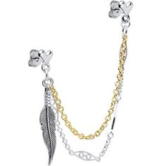 Ear Cuff Helix Piercing Earrings   Body Candy Body Jewelry for Boo