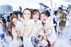 イビサの「泡パーティ」を日本でも!2015年一発目は渋谷で3月に開催決定