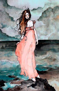 Gorgeous artwork by Abigail Larson.