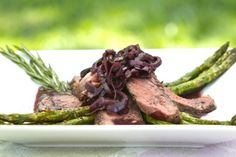 Grilled Rib Eye Steak with Mushroom Wine Reduction Sauce | Cooking-Outdoors.com | #Grilling