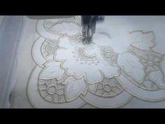 Machine Embroidery Design Richelieu corner by Royal Present Embroidery Sewing Machine Embroidery, Cutwork Embroidery, Embroidery Shop, Free Machine Embroidery Designs, Embroidery Files, Skin Makeup, Pretty Flowers, Cross Stitching, Diy