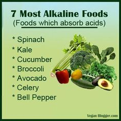 Alkaline foods  help your body heal and stay balanced.