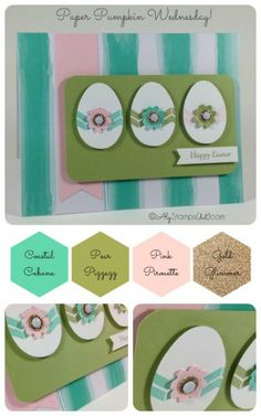 Glitter Greetings Paper Pumpkin Easter Card