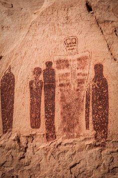 """""""The Great Ghost and Attendants"""" Utah's Canyonlands National Park"""
