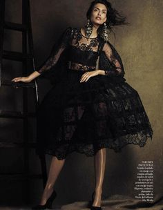Bianca Balti Vogue Spain October 2012