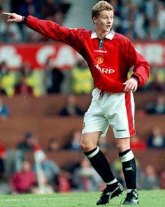 Do you remember this Norwegian kid? Ole Gunnar Solskjaer: 1996.