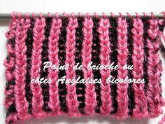 Tricot : le point de brioche ou côtes anglaises bicolores est idéal pour réaliser écharpes et pulls. Cette méthode est l'une des plus simple à réaliser. Tutoriel en vidéo