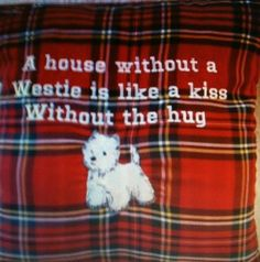 I really love westie. I had one, but now he became an angel....my Angel!!!!