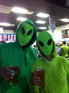 Alien costume DIY