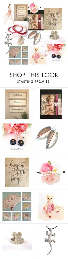 """Enjoy the Little Things"" by anna-recycle ❤ liked on Polyvore featuring Forever 21, modern, rustic and vintage"
