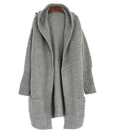 This must-have luxurious open front maxi cardigan with over sized ...