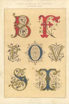 DropCapSet  #vintage #alphabet