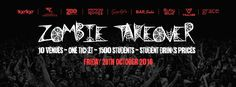 Book Tickets for AAA - Access All Areas - The Zombie Takeover at Ruby Blue, London on Fri 28th Oct 2016 - brought to you by Late Night London Students.