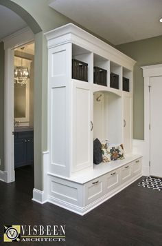 Mudroom - behind the front door, along that wall? Built ins to store shoes and other stuff? - http://www.homedecoratings.net/mudroom-behind-the-front-door-along-that-wall-built-ins-to-store-shoes-and-other-stuff