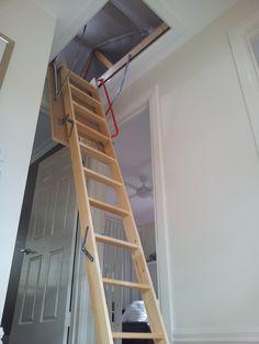 Attic Ladder Installed