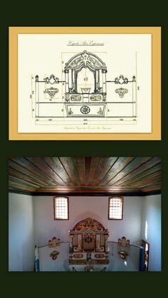 Projeto e Capela de Nossa Senhora da Boa Esperança - Florestal - MG - Brasil.