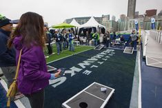 Classic Games, Cornhole at your tailgating event.