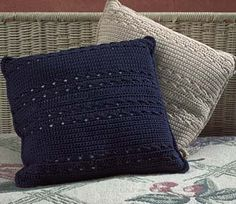 crochet pillow patterns | Beautiful Decorative Pillows :: Free Crochet Patterns