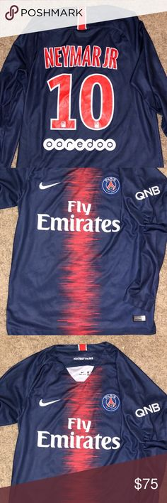 7a4f5cfd1714 Authentic Nike Neymar Jr Fly Emirates Jersey Nike Jersey. 100% Authentic