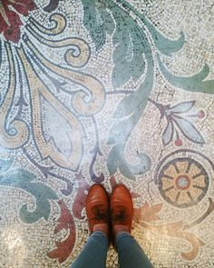 Look down you might find pretty things | #TheMelbourneChronicles  #ihavethisthingwithfloors #floor #look #vsco #vscogrid #vscocam #melbourne #visitmelbourne #Australia #seeaustralia #shoes #shoelover #explore #wanderlust #city #travel #instapic #instagram #igers #art #architecture #design #iphoneography #visitvictoria #Oxford #fashion #pretty by theunusualproject
