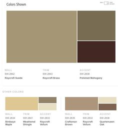 The Perfect Paint Schemes for House Exterior | Sherwin william ...
