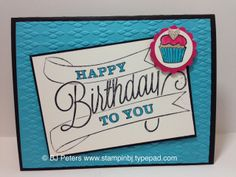 Another Great Year stamp set makes this classic looking card.  One of my class cards this month.  http://stampinbj.typepad.com/weblog/2014/04/which-ones-will-you-choose.html