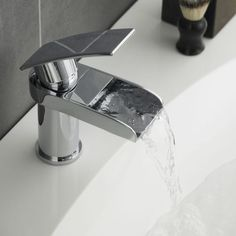 Rhyme Mono Basin Mixer Tap Without Waste - Image 3